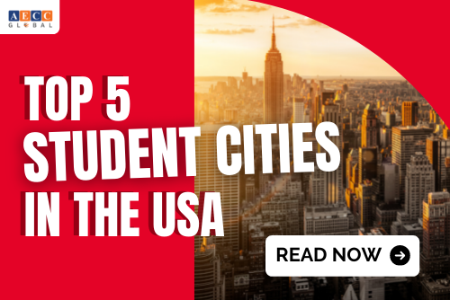 Top 5 student cities in the USA